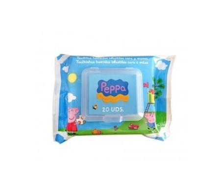 Brevia toallitas cara y manos Peppa Pig 20uds