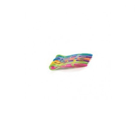 Nuby Softflex cucharas para sólidos 6uds