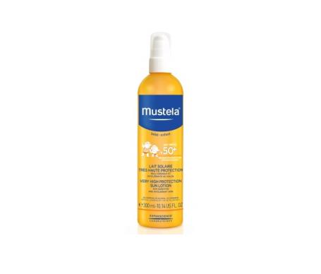 Mustela® fotoprotector spray solar pieles atópicas SPF50+ 300ml