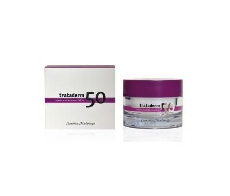 Trataderm-50 crema reestructurante con calcio SPF15+ 50ml