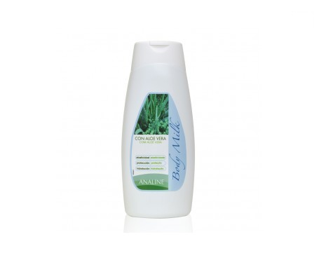 Analine body milk con aloe vera 300ml