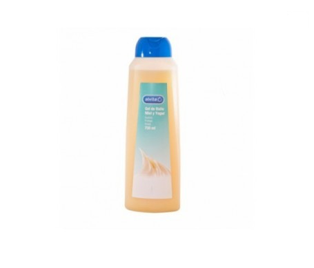 Alvita gel baño miel y yogur 750ml