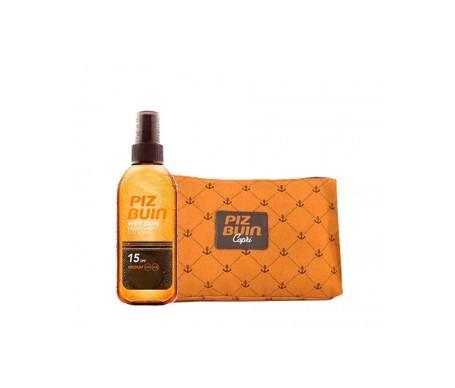 Piz Buin® Wet Skin SPF15+ aceite spray 150ml + Obsequio