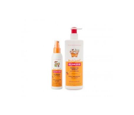 Shampoo Klorane Junior 500ml + spray detangling 125ml