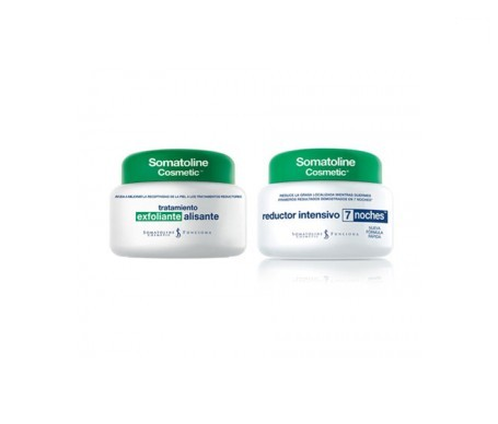 Somatoline® reductor intensivo 7 noches 250ml + exfoliante alisante 300ml