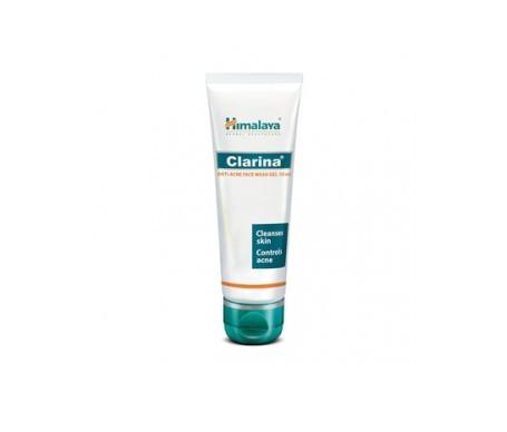 Himalaya Herbals Clarina gel limpiador facial anti-acné 75ml