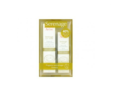 Avène Serenage Unifiant crema día 40ml + bálsamo contorno de ojos 15ml