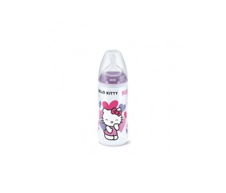 Nuk® biberón Hello Kitty tetina silicona 300ml