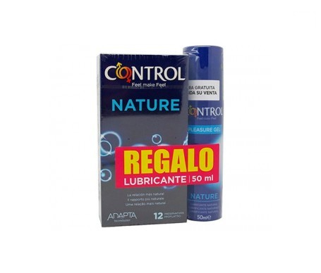 Pack Control Nature 12uds + Control Nature lubricante 50ml