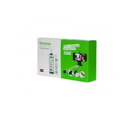 Everclean® gel purificante 240ml + gel crema 50ml + REGALO palo selfie