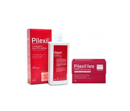 Pacchetto Pilexil™ Forte 15+5 fiale + Shampoo Perdita Capelli 300ml