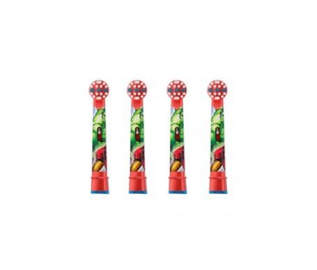 Oral-B Stages Power recambio cepillo eléctrico diseño Los Vengadores 4uds
