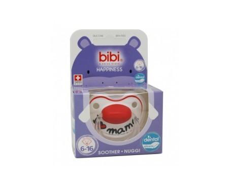 Bibi chupete silicona 6-16 meses basic care