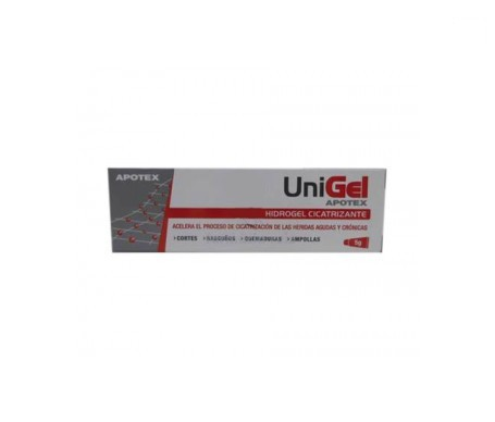 Apotex Unigel hidrogel cicatrizante 5g