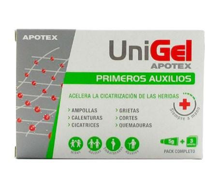 Unigel Acelerador Cicatrización Crema + 3 Apositos
