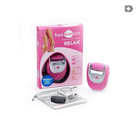 E-nn Love pack Relax lima eléctrica + cabezal masajeador + máscara de pies hidratante