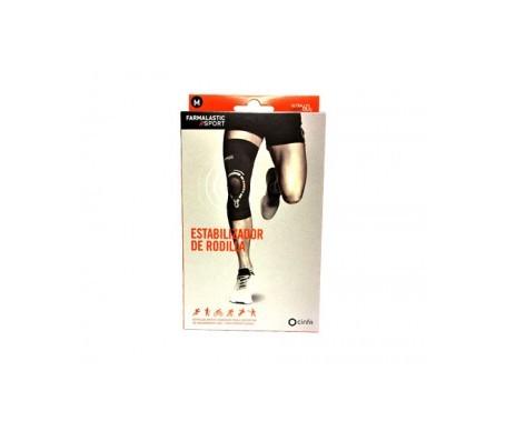 Farmalastic Sport estabilizador rodilla T- M 1ud