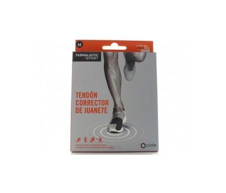 Farmalastic Sport tendón corrector juanetes T-M 1ud