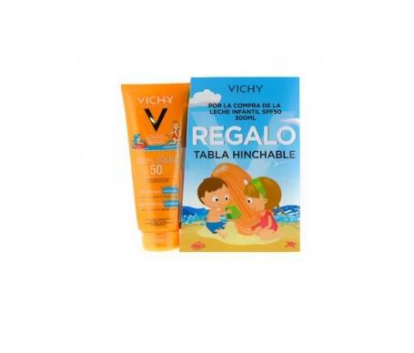Vichy solar leche niños SPF50+ 300ml + REGALO tabla