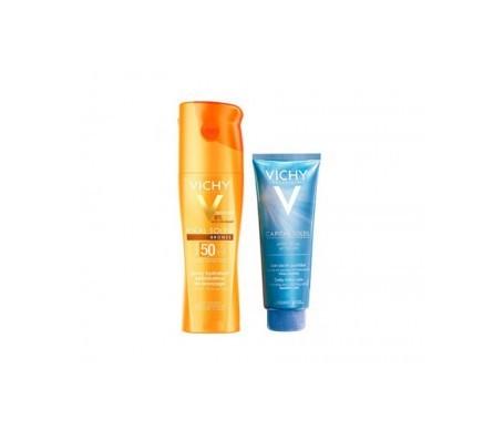 Vichy Ideal Soleil Spray Hydratant Optimisateur de Bronzage SPF 50+ 200 ml + Aftersun 100 ml