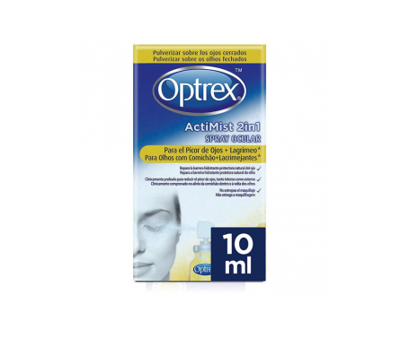 Optrex Actimist 2en1 spray picor de ojos y lagrimeo 10ml