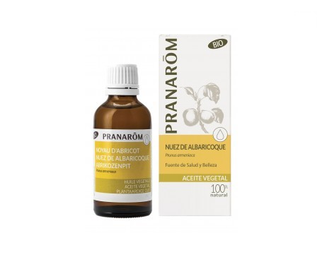 Pranarôm aceite vegetal nuez de albaricoque BIO 1000ml