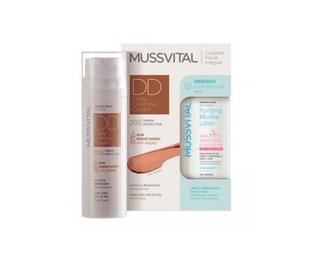 Mussvital face cream DDC 50ml + GIFT micellar lotion 10ml