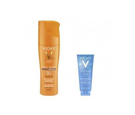 Vichy Soleil spray bronze SPF30+ 200ml + aftersun 100ml