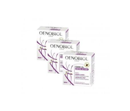 Oenobiol Femme 45+ control de peso 3uds