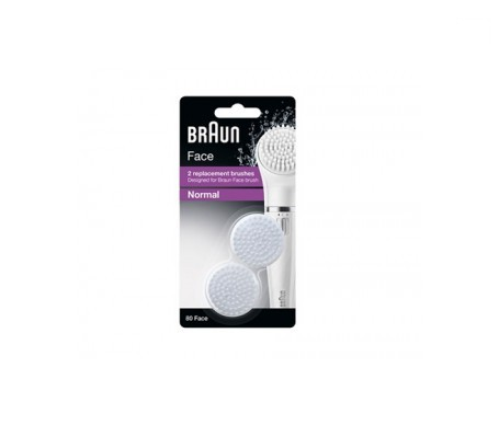 Braun Refill Normal Silk Epil 80 Face 2 cabezales