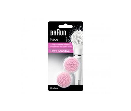 Braun Refill Extra Sensible Silk Epil 80 2 cabezales