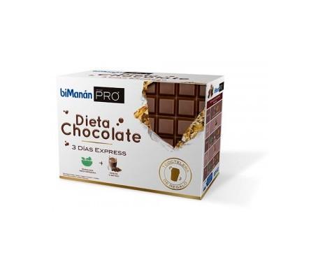 biManán® pro dieta chocolate 3 días express