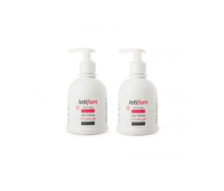 Letifem Woman gel íntimo 250ml+250ml