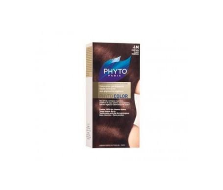 Phyto colorante colore marrone chiaro 4M 1 pz