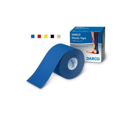 Darcos tiras elásticas de colores 5cmx5m 1ud