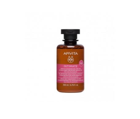 Apivita Intimate Plus gel limpiador suave íntimo árbol del té 200ml