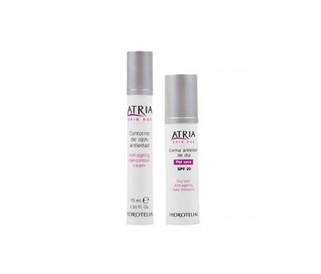 Hidrotelial Atria crema piel seca SPF20+ 50ml + contorno de ojos 15ml