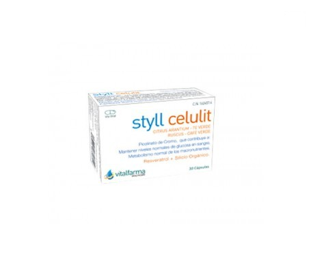 Vitalfarma Styll Celulit 30cáps