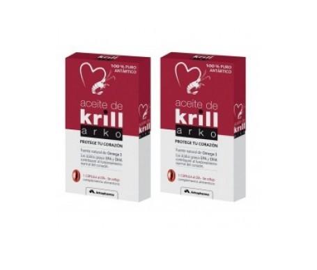 Arkopharma aceite de krill 15cáps+15cáps