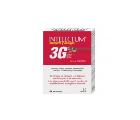 Intelectum 3G Memoria y Energía 30cáps