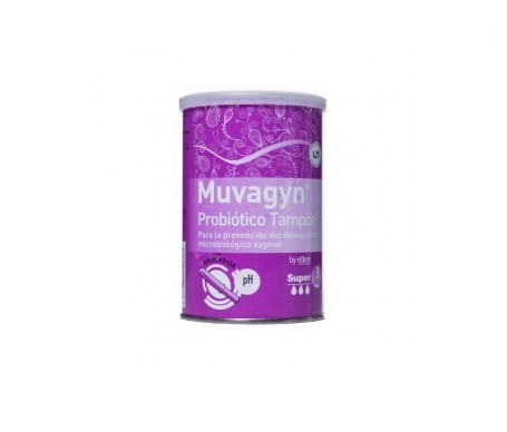 Muvagyn® Probiotico tampón súper con aplicador 9uds