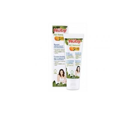 Nuby All Natural crema lanolina pezón 30g