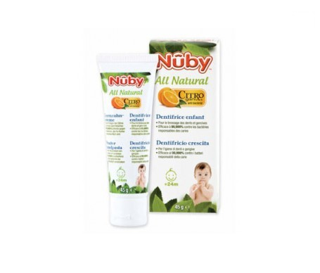 Nuby All Natural pasta dientes niño 45g