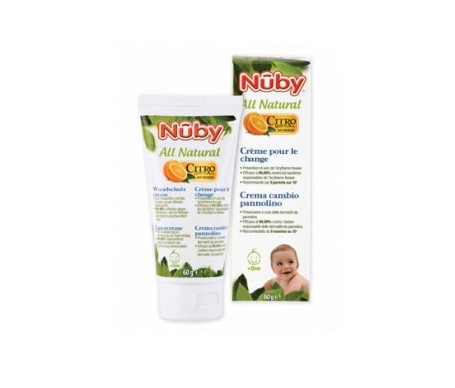 Nuby All Natural crema pañal 120g