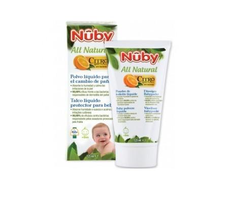 Nuby All Natural polvo en crema 125ml