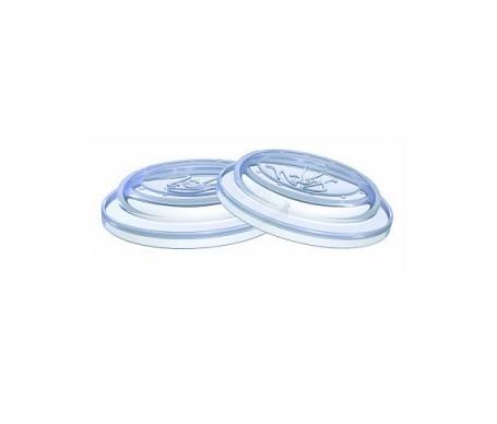 Nuby discos de silicona para biberón 2uds