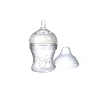 Nuby Natural Nurser Step 1 biberón silicona 150ml