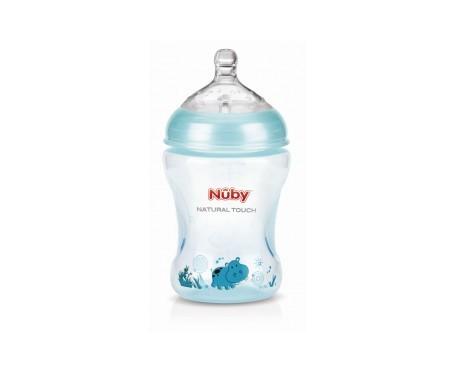 Nuby Natural Nurser Step 2 biberón polipropileno verde flujo medio 240ml