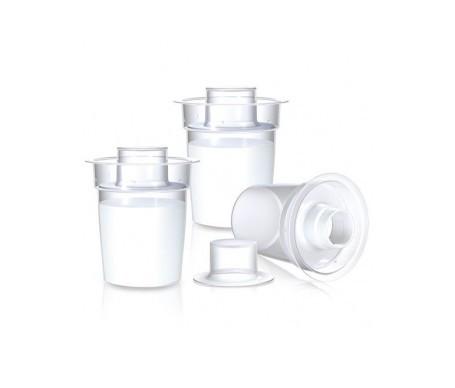 Nuby dosificadores de fórmula leche en polvo 3uds