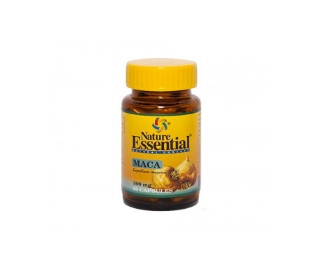 Nature Essential Maca 500mg 50cáps